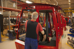 Vehicle Cabin Assembly Line in Fortaco Kurikka Business Site